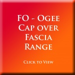 FO - Cap Over Ogee Fascia - Full Replacement Fascia Also Available