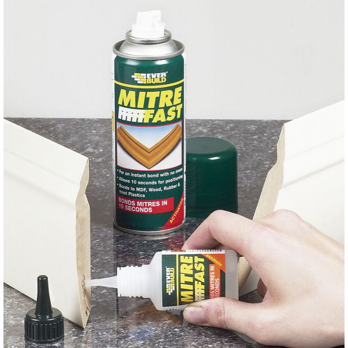 Super glue and activator bonding kit
