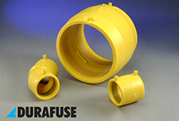 Durafuse Electro fusion Couplers for PE80 Gas pipe