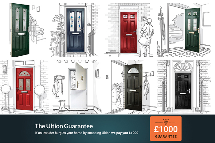 Ultion Locks come with the £1000 Ultion Guarantee