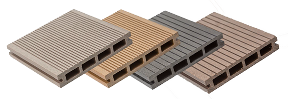 Enterprise Composite Decking is avaialable in Four fantastic Colours