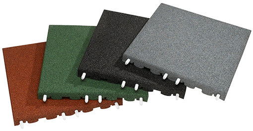RubberLok Safety Tiles