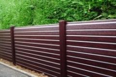 Woodgrain Fencing - Rosewood