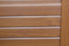 Woodgrain Fencing - Golden Oak