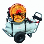 95L Walk Behind Sprayer with 1.5HP Honda Engine – 12L/min Pump, 30m Hose Reel & Lance