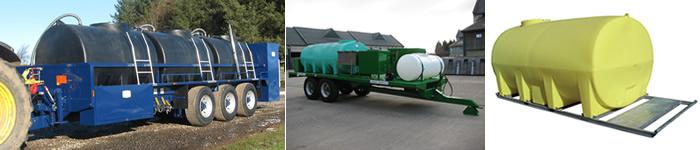 Horizontal Tanks for liquid storage