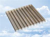 Bronze / Opal Polycarbonate Sheets