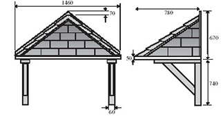 Helmsey Dimensions