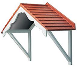 Door Canopies - Kendal GRP Canopy
