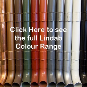 Lindab steel gutter Colour Range
