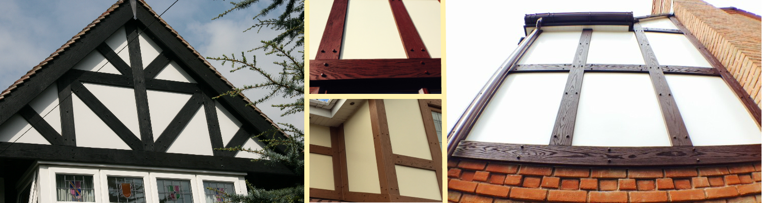 Render boards for use with Mock Tudor Boards
