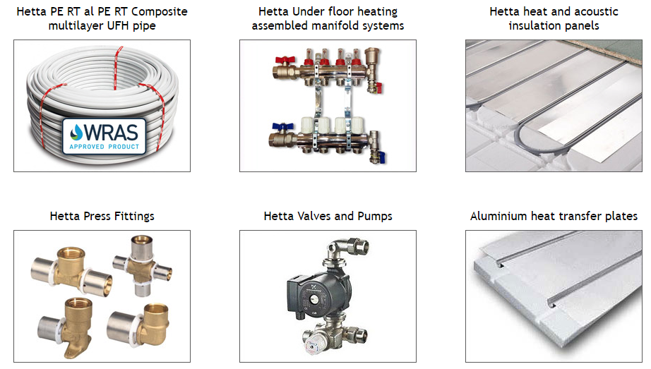 Hetta Underfloor Heating from Enterprise Building Products Limited