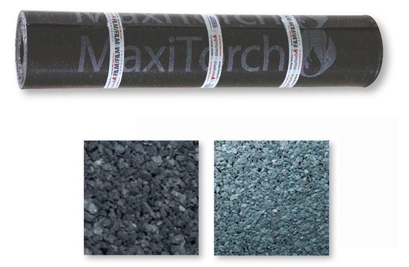 Maxitorch roofing felt is available from Enterprise Building Products Limited