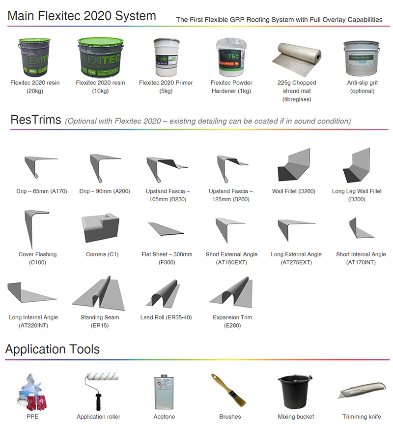 Enterprise offer a full range of Flexitec2020 products