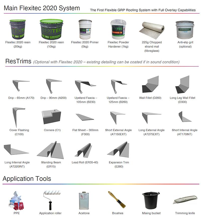 Enterprise offer a full range of Flexitec2020 products