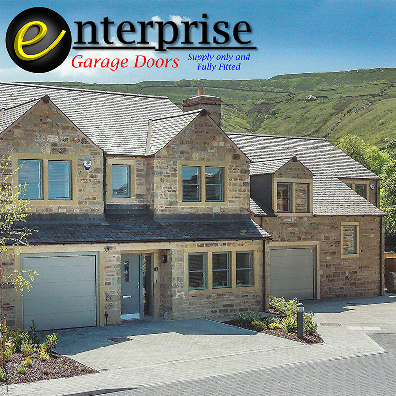 Supply only or supply and fit garage doors.