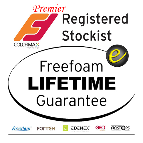 Click here to download our Freefoam Catalogue