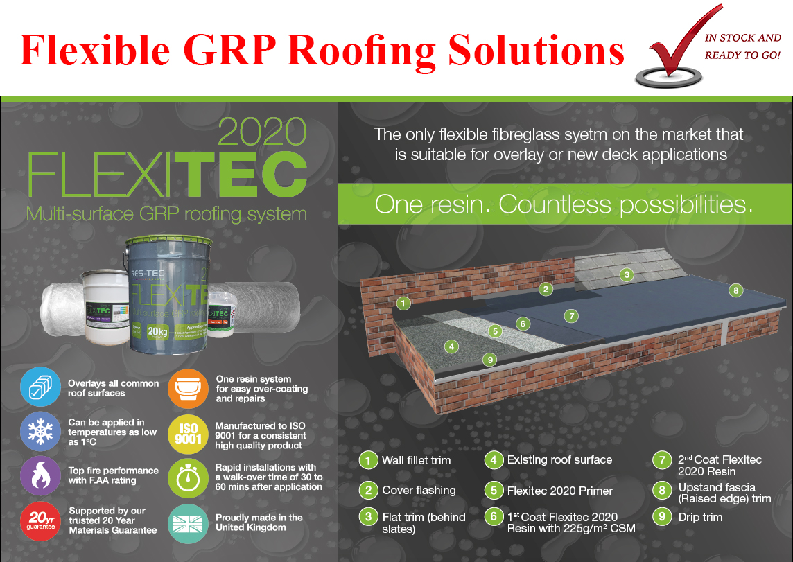 Felitec2020 GRP Flat roofing solution