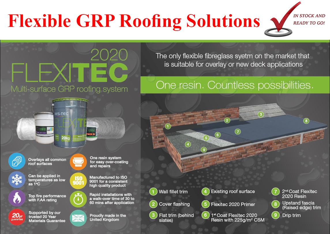 Felitec2020 GRP Flat roofing solution