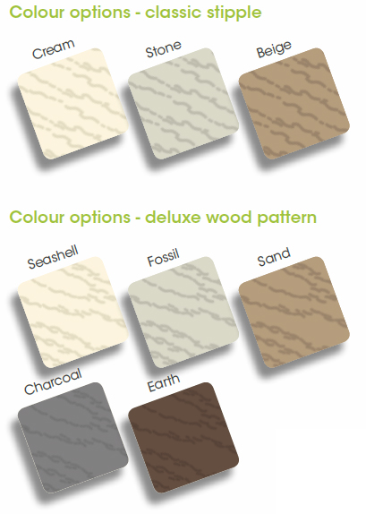 Liniar uPVC Deck Colours