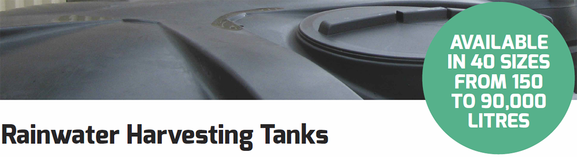 Rainwater Harvesting Tanks from Enterprise