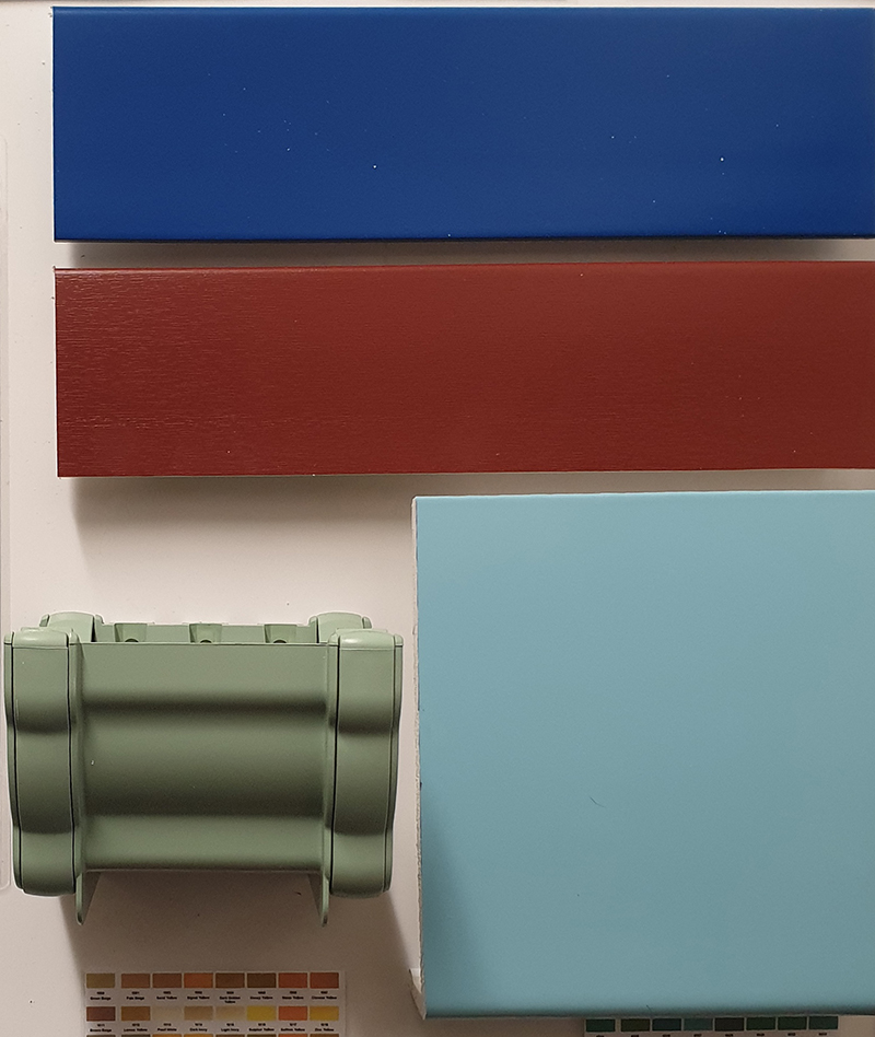 NE-Colour products from Enterprise Building Products