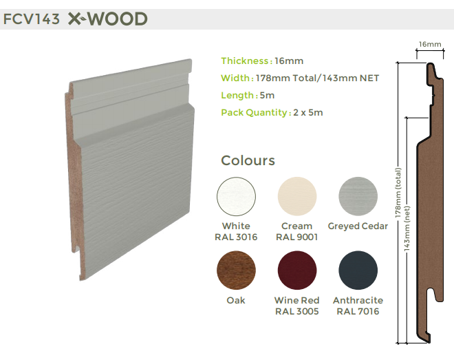 X-Wood Exterior Cladding