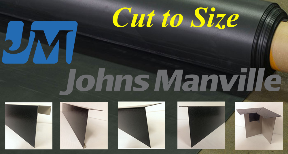 Johns Manville Rubber roofing